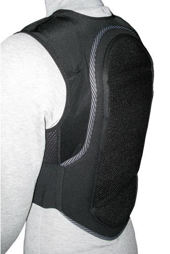 Жилет с защитой спины для сноубордистов