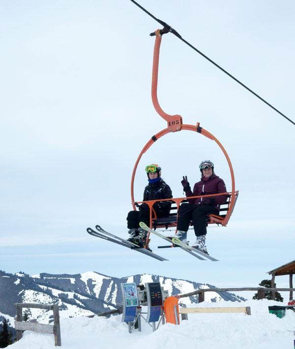 Сидушка Бионт для защиты от холода на горнолыжных подъемниках