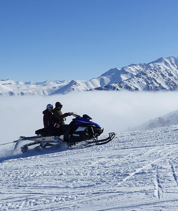 Сидушка  Бионт для защиты от холода на снегоходах